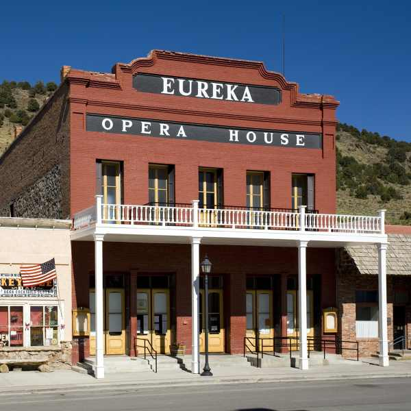 Eureka Opera House was constructed in 1880 and restored in 1993. It is one of only two historic opera houses in the state that it still in operation.