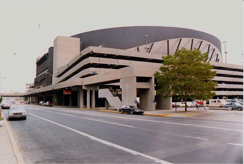 Market Square Arena in the 1980s