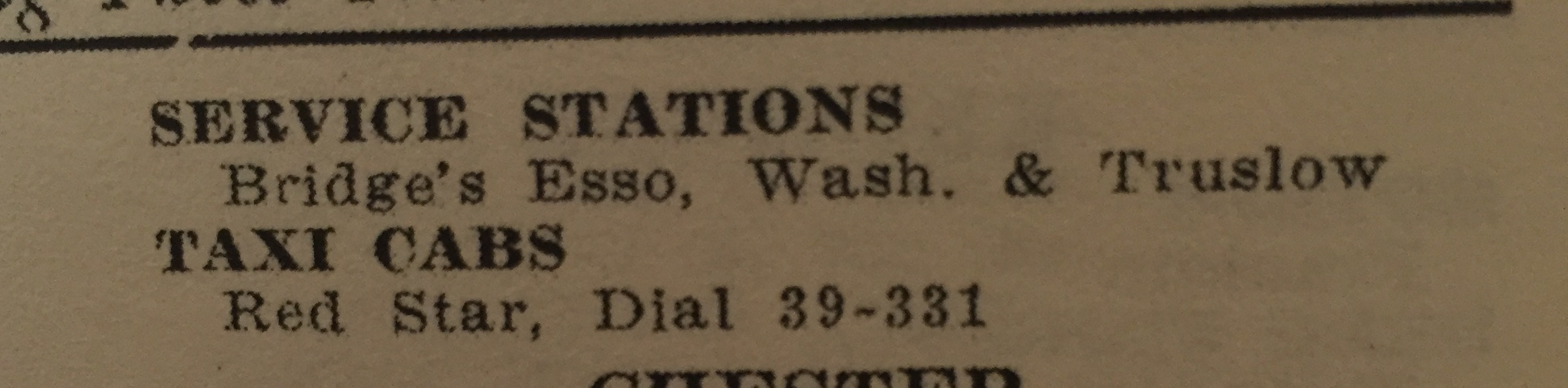 Other listings in the Charleston area (1954 Edition).