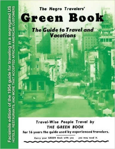 The Negro Traveler's Green Book Cover (1954 Edition).