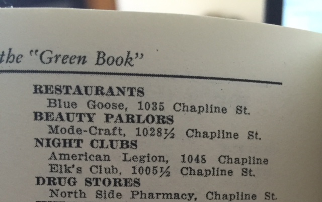 Continuation of the Wheeling area listings in the 1954 edition.