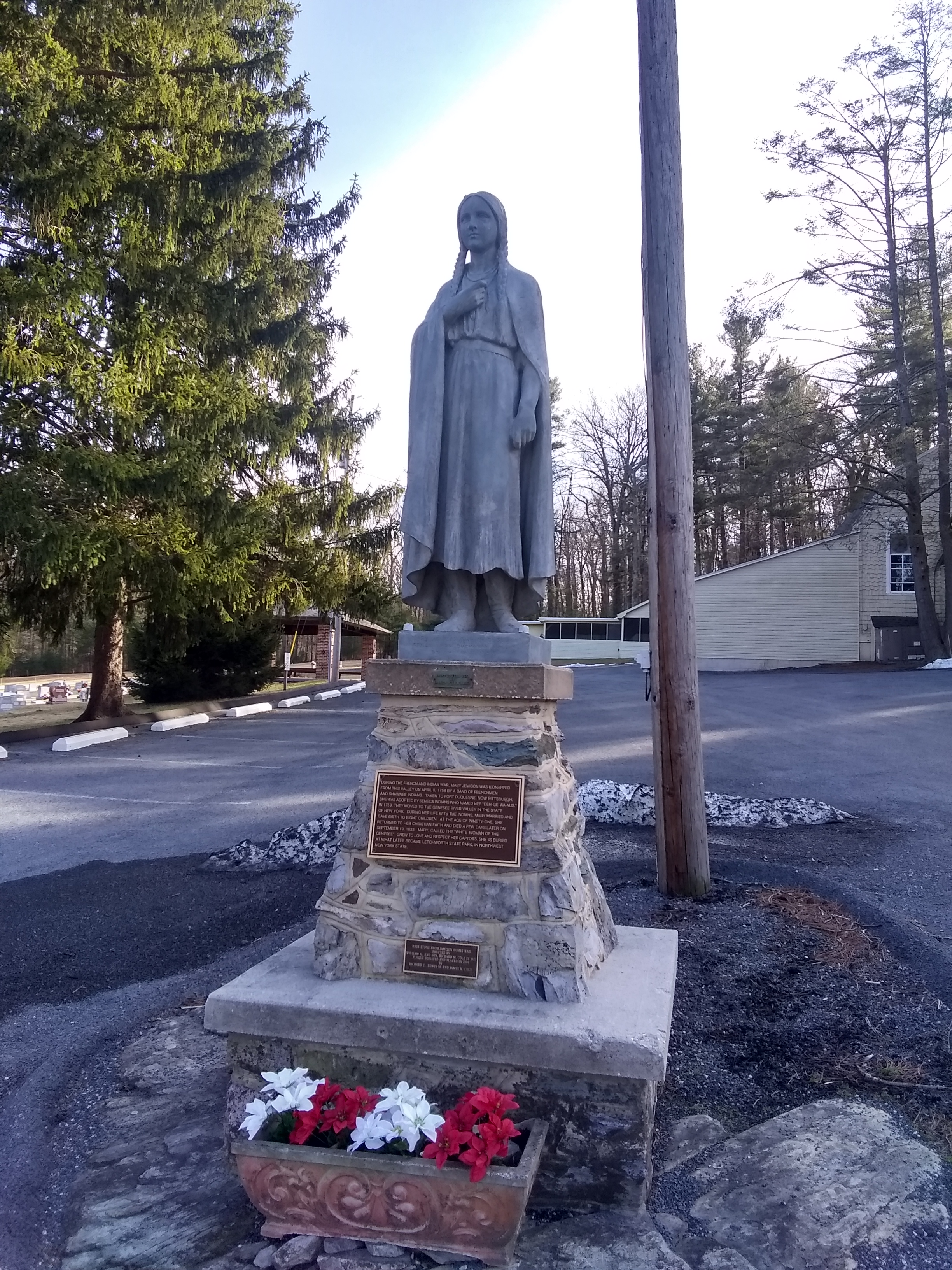 Commemorative Statue of Mary Jemison
