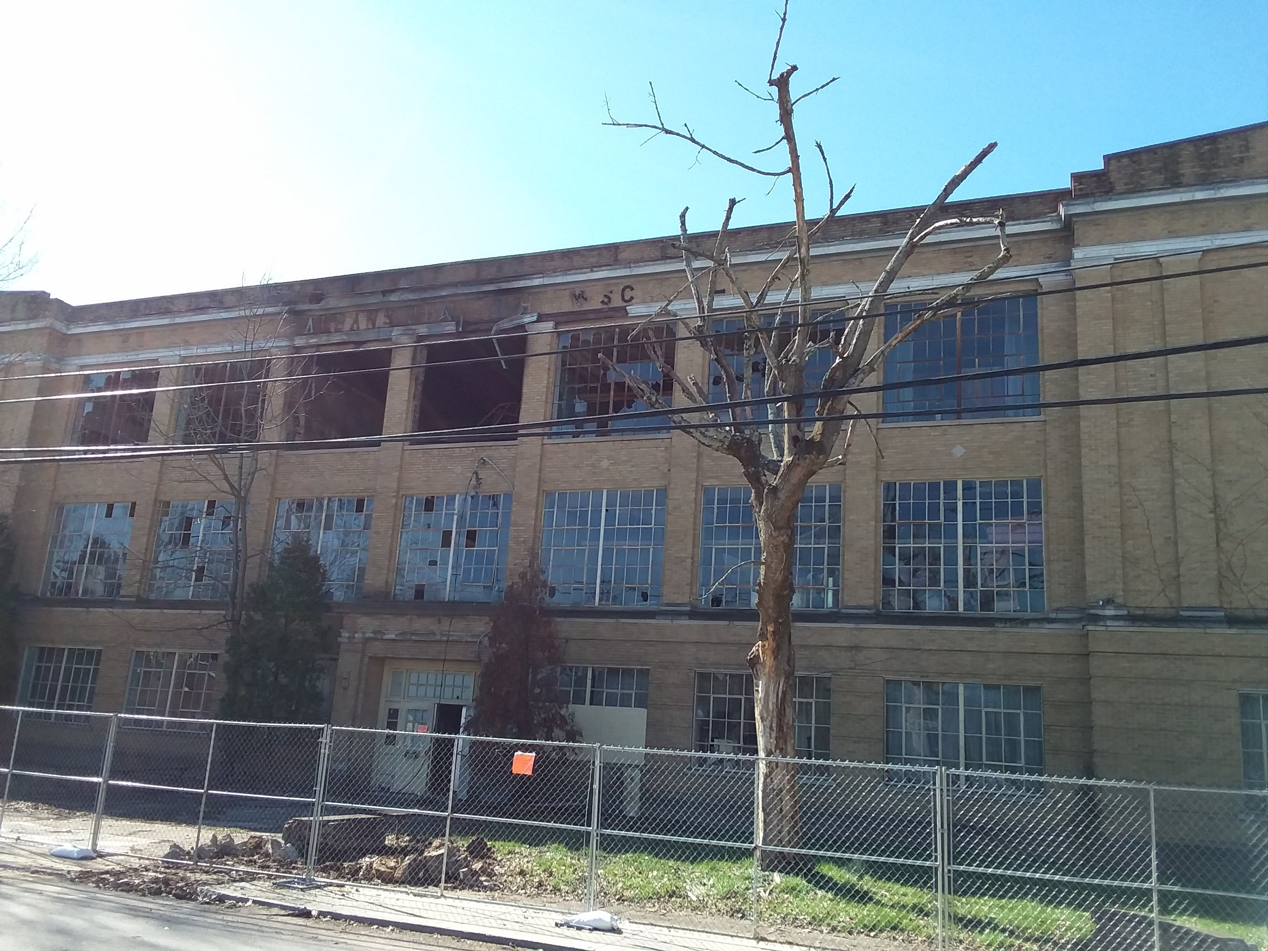 Old Jr. High School (current storage and warehouse) was severely burnt in March 2018.