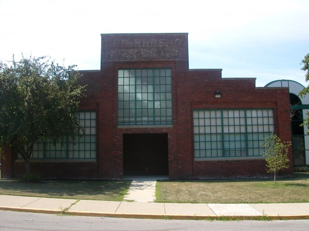 The only remaining part of the Duesenberg factory, Building No. 3