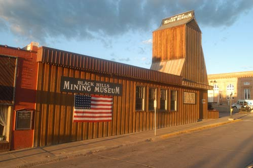 The Black Hills Mining Museum opened in 1986.