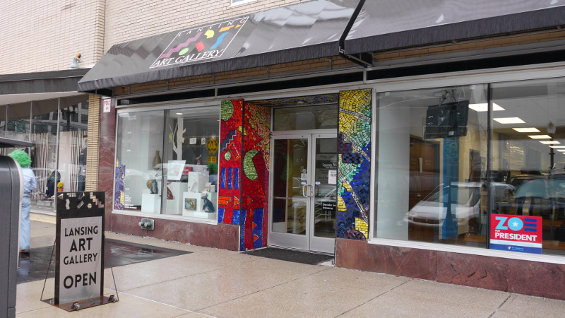 The Lansing Art Gallery promotes the visual arts in Lansing, Michigan.