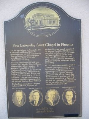 The historical marker .