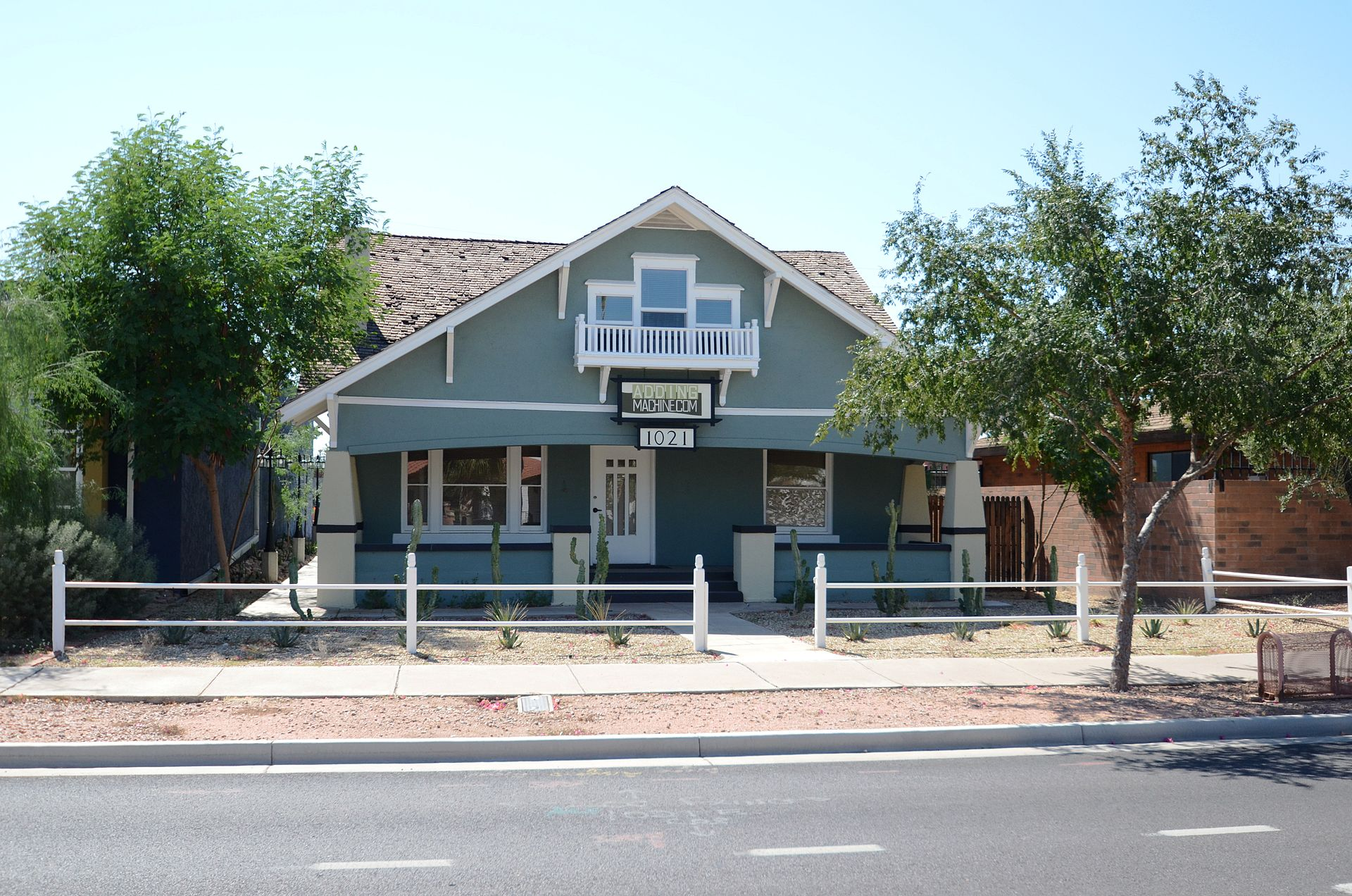 The former Swindall Tourist Inn, now an accounting business. It was built in 1913 for Matilda Steyaert who arrived in Phoenix in 1897.