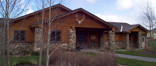 The Welcome Center of the National Elk Refuge
