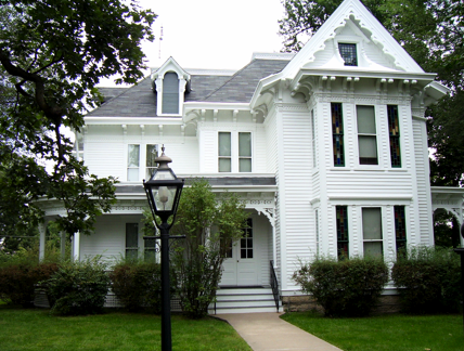 The Truman home was been retrofitted to be a museum in the years following Truman's departure from Earth.
