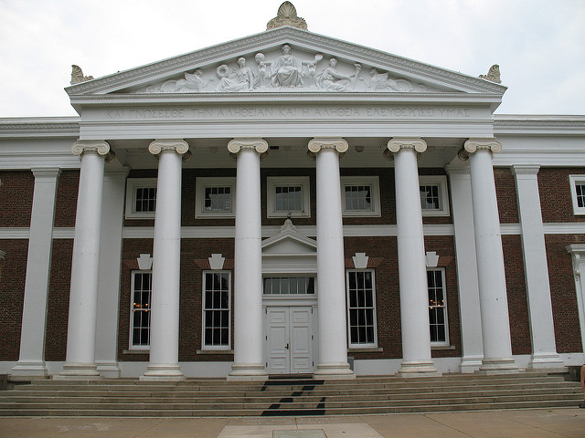 Cabell Hall at the University of Virginia