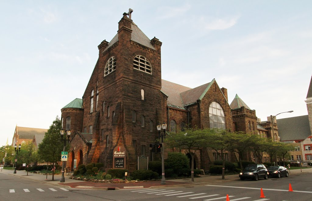 Central United Methodist Church is on the National Register of Historic Places.