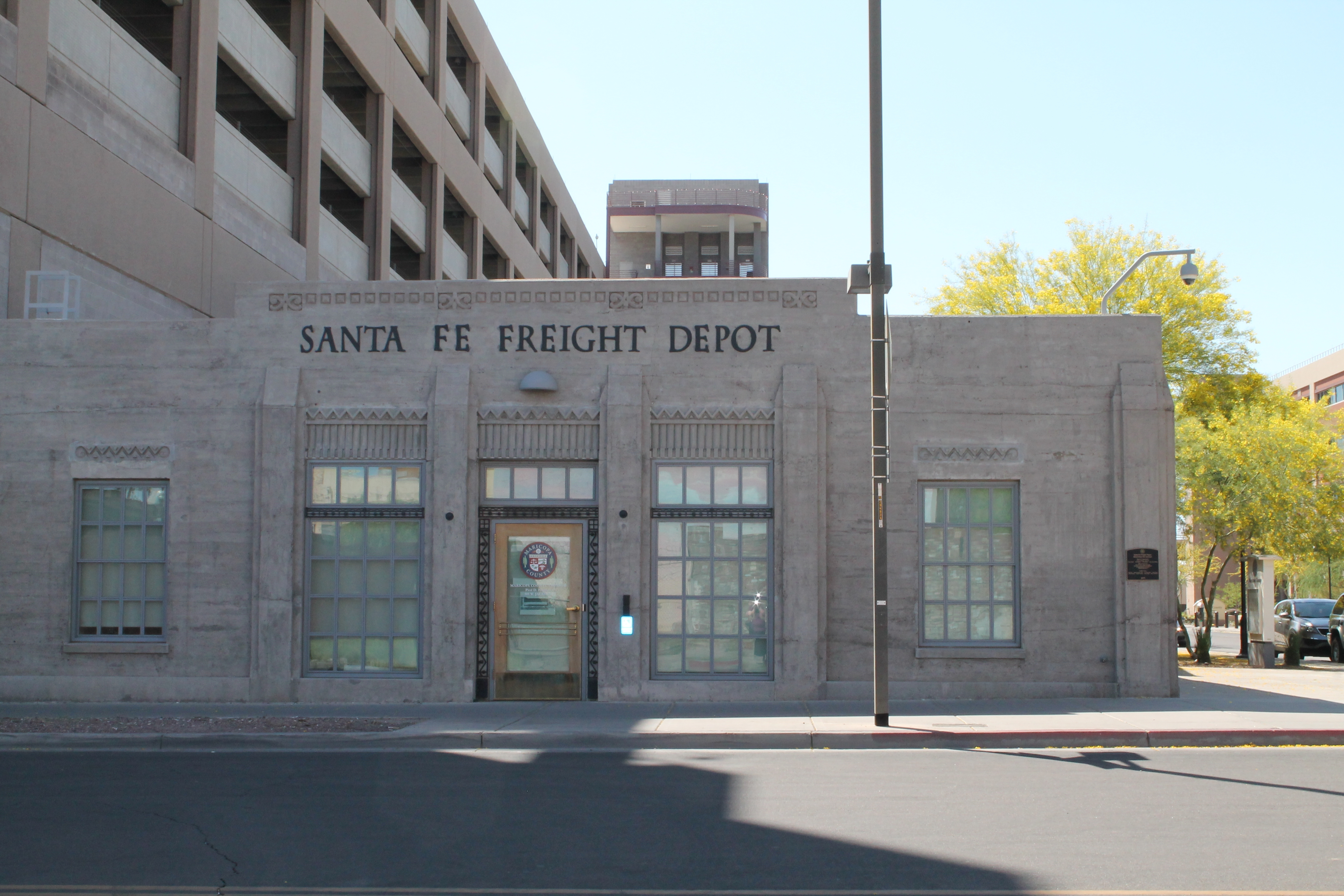 The former freight depot was built in 1929.
