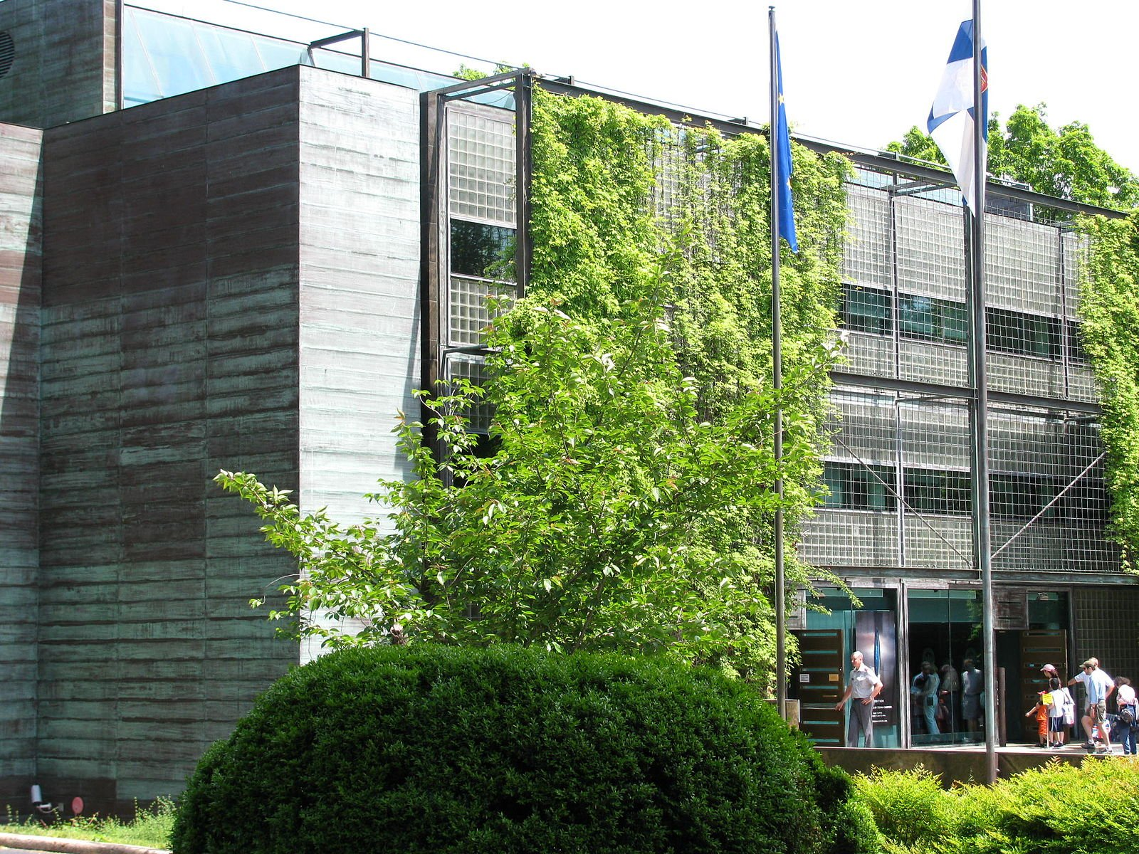 The Finnish Embassy is the first and only LEED Platinum embassy building in the United States. Photo by Slowking4 on Wikimedia.