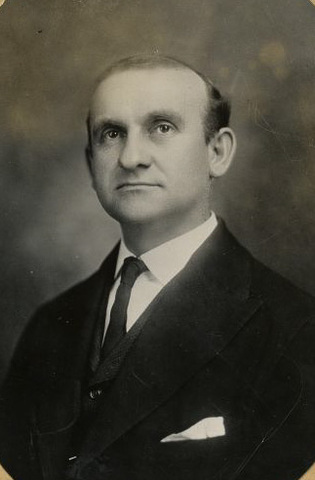 This is a portrait of Isaac T. Mann.