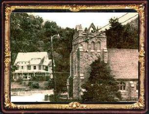 Here is a picture of the Presbyterian Church Mann built in 1890, with the famous Mann Mansion in the background.