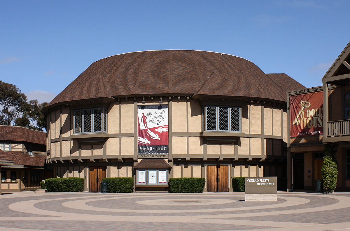 The Old Globe Theatre in San Diego is one of the nation's premiere regional theatres.