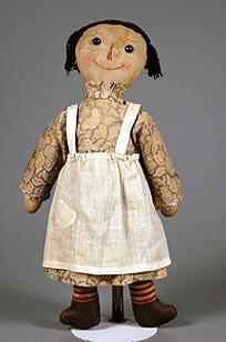 An early Raggedy Ann doll