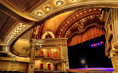 When the theater opened in 1912, it was one of the largest in the nation.
