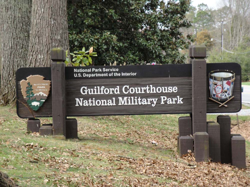Guilford Courthouse National Military Park Entrance
