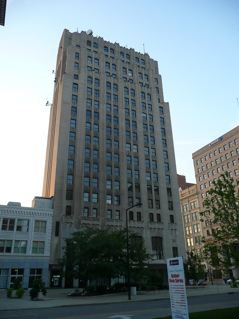 First National Tower was constructed in 1929 and remains the tallest structure in Youngstown