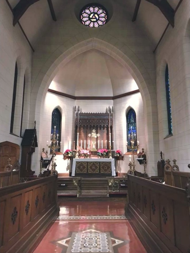 The Choir and Alter of Christ Episcopal Church
