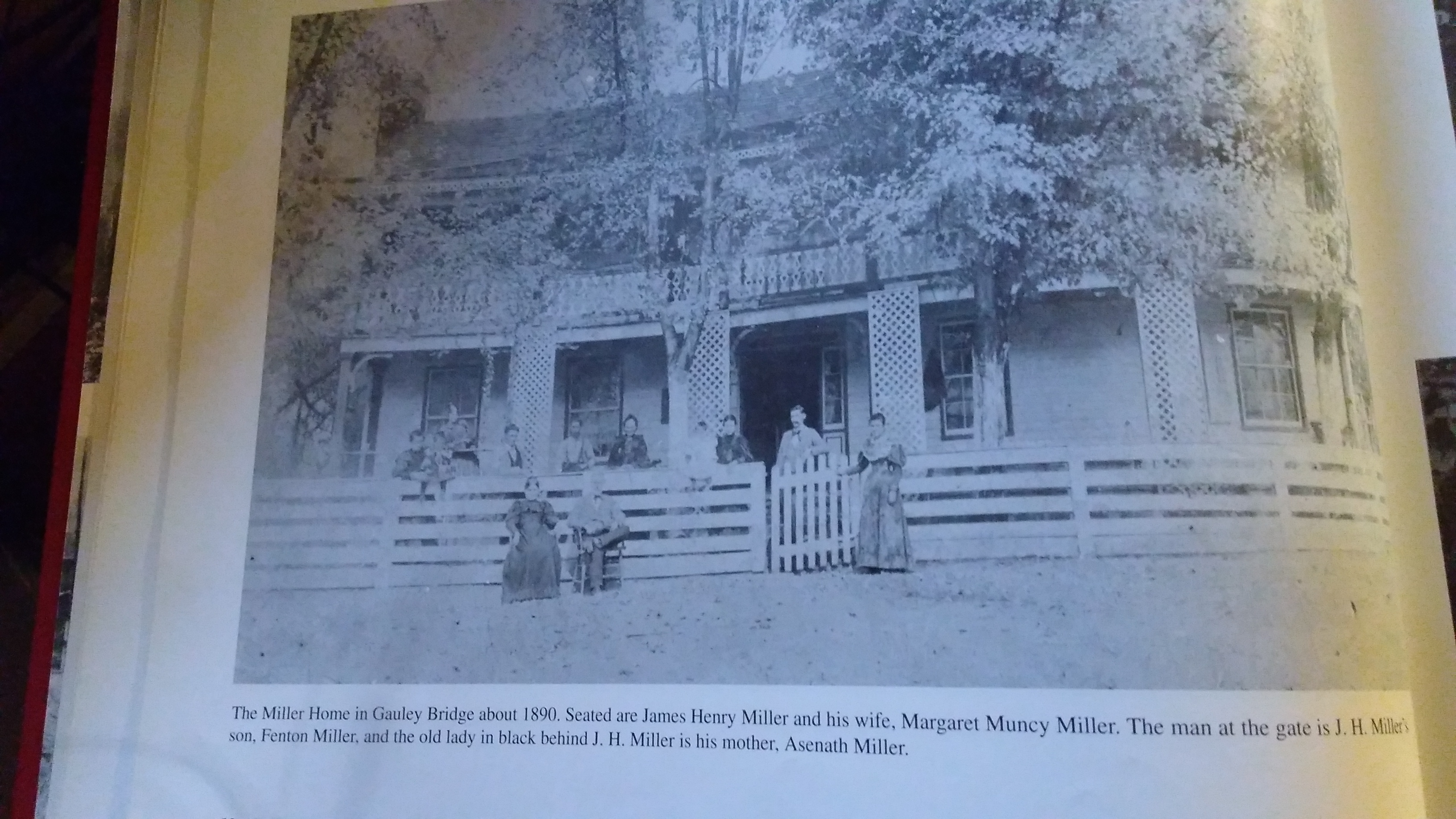 """Photo taken by me from """"A Pictorial History of Gauley Bridge"""""""