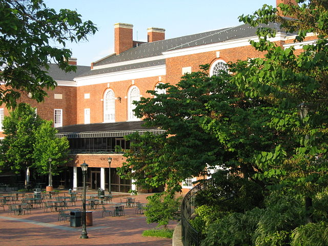Newcomb Hall at U.Va