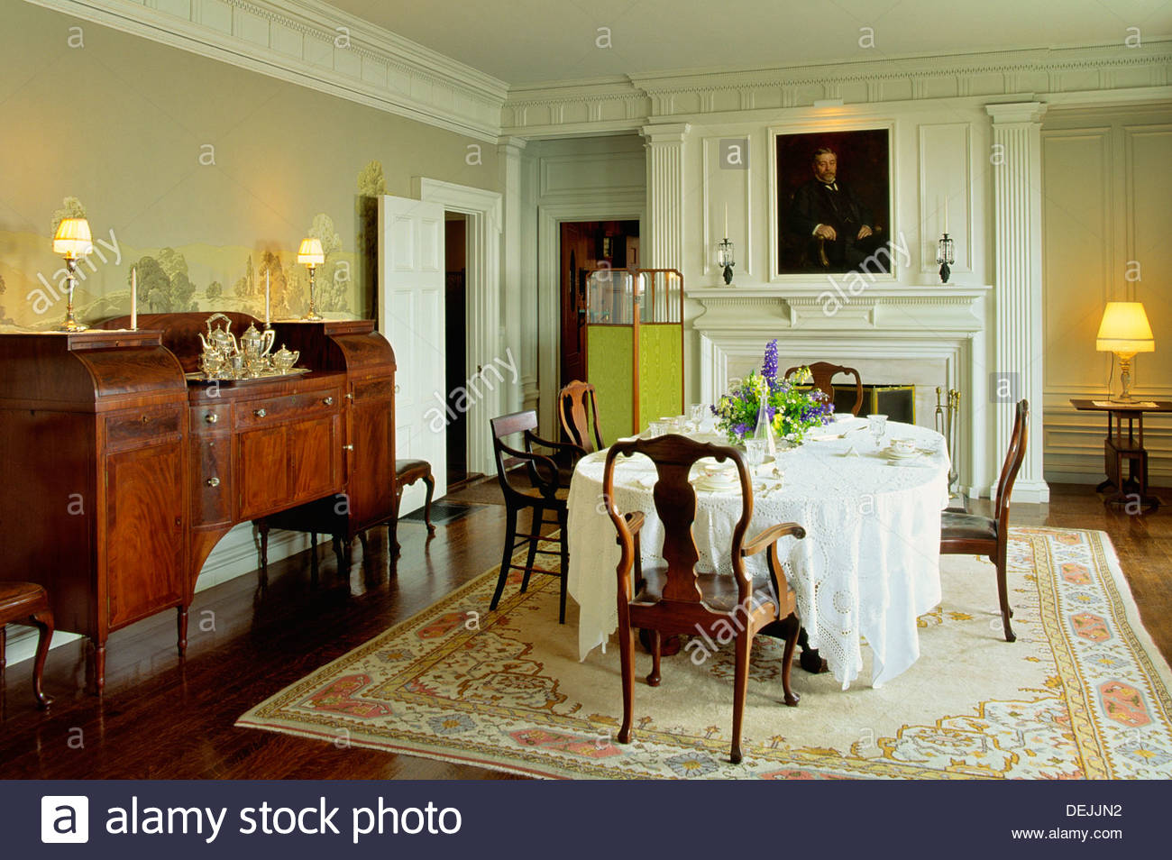 Hildene's dining room.