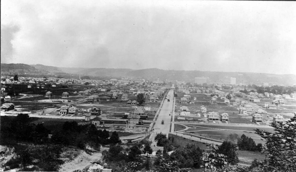 Photo of Huntington's south side being developed