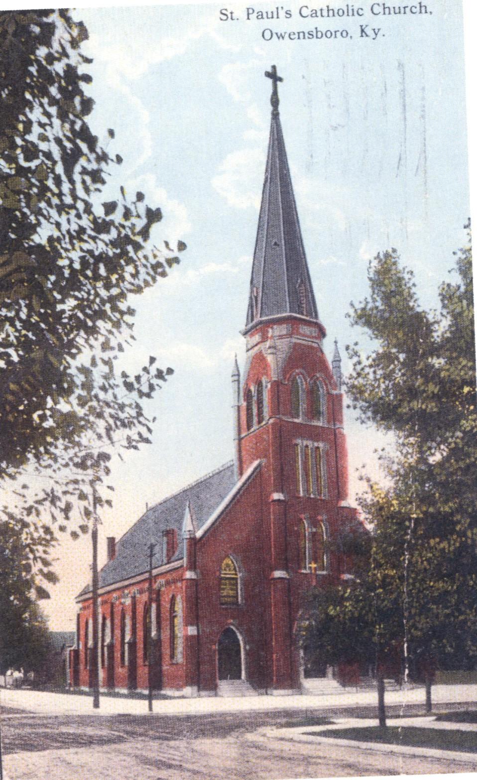 St. Paul's Church, ca. 1900