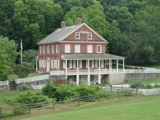 The Rockford Plantation- Edward Hand's home in Lancaster, Pennsylvania.