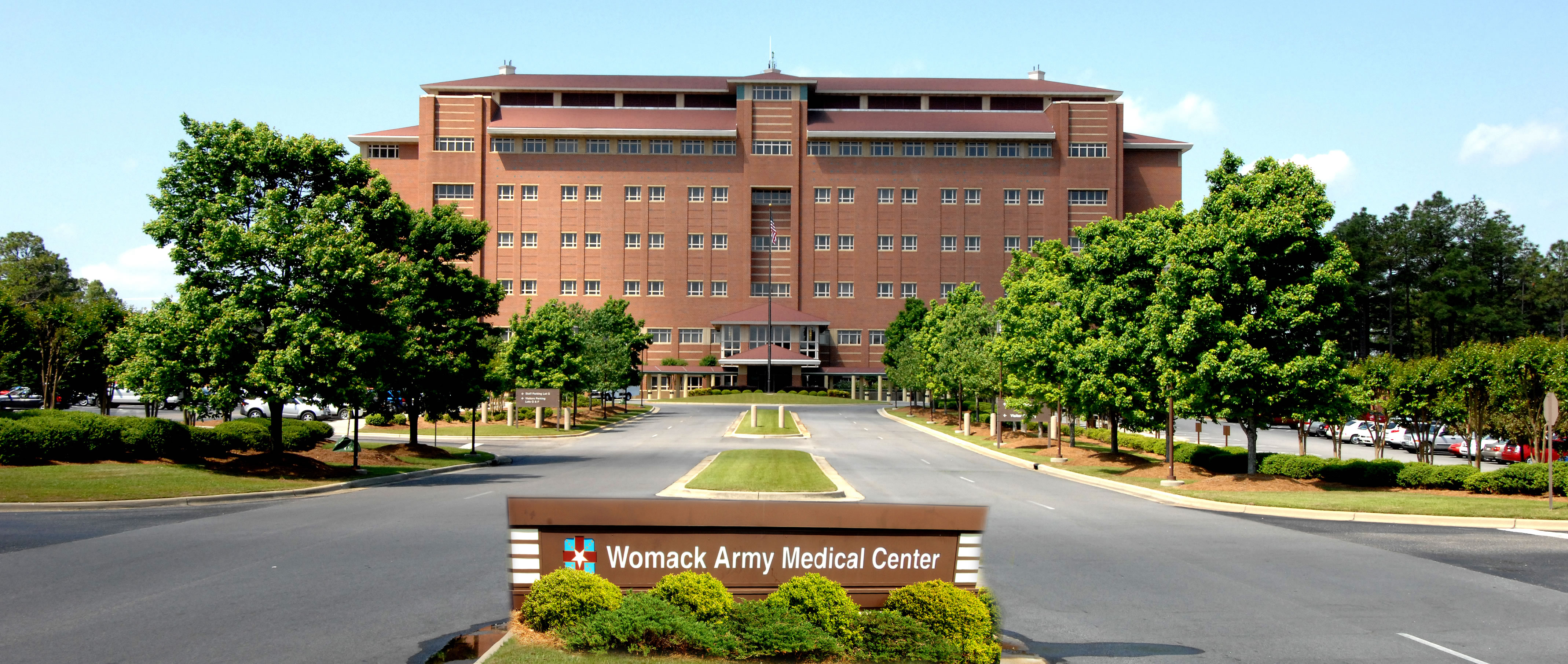 Womack Army Medical Center West Entrance