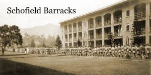 Photo of Schofield Barracks in the 1960s.