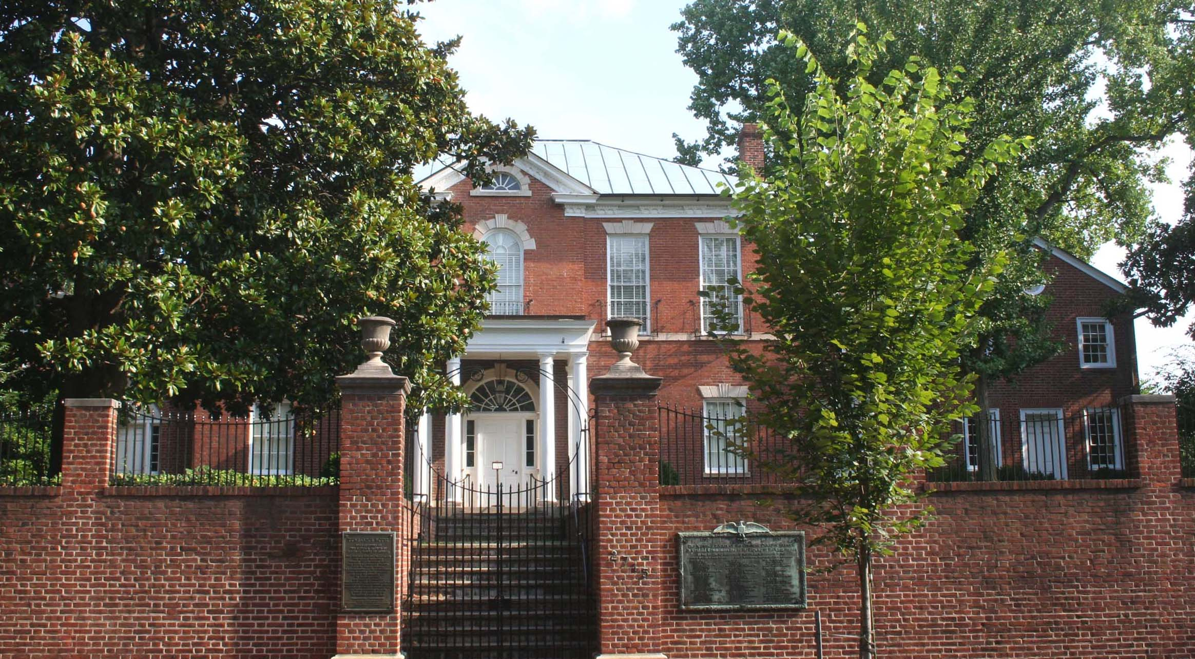 Dumbarton House has undergone numerous preservation projects supported by the NSCDA, to restore the house to its original 1800s appearance.