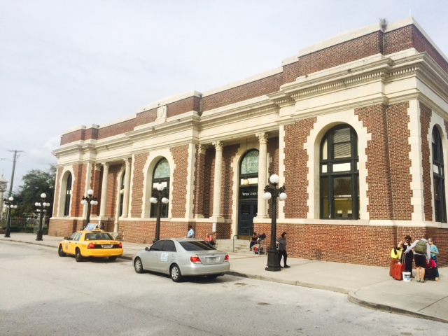 Historic Tampa Union Station. Courtesy of Friends of Tampa Union Station.