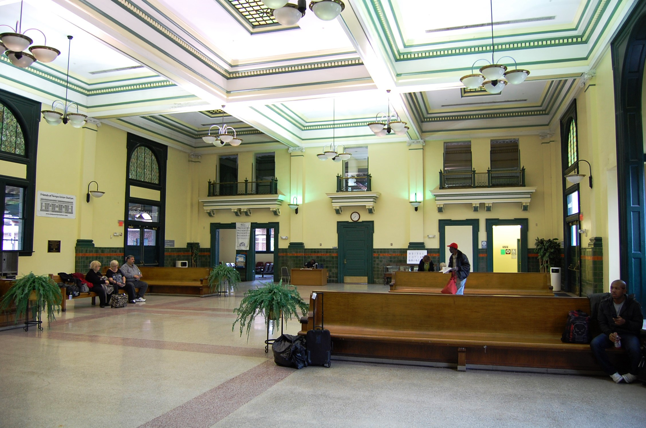 Interior of Tampa Union Station. Courtesy of Friends of Tampa Union Station.