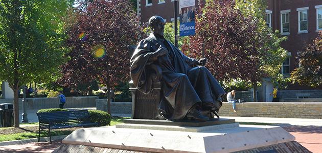 James K. Patterson Statue