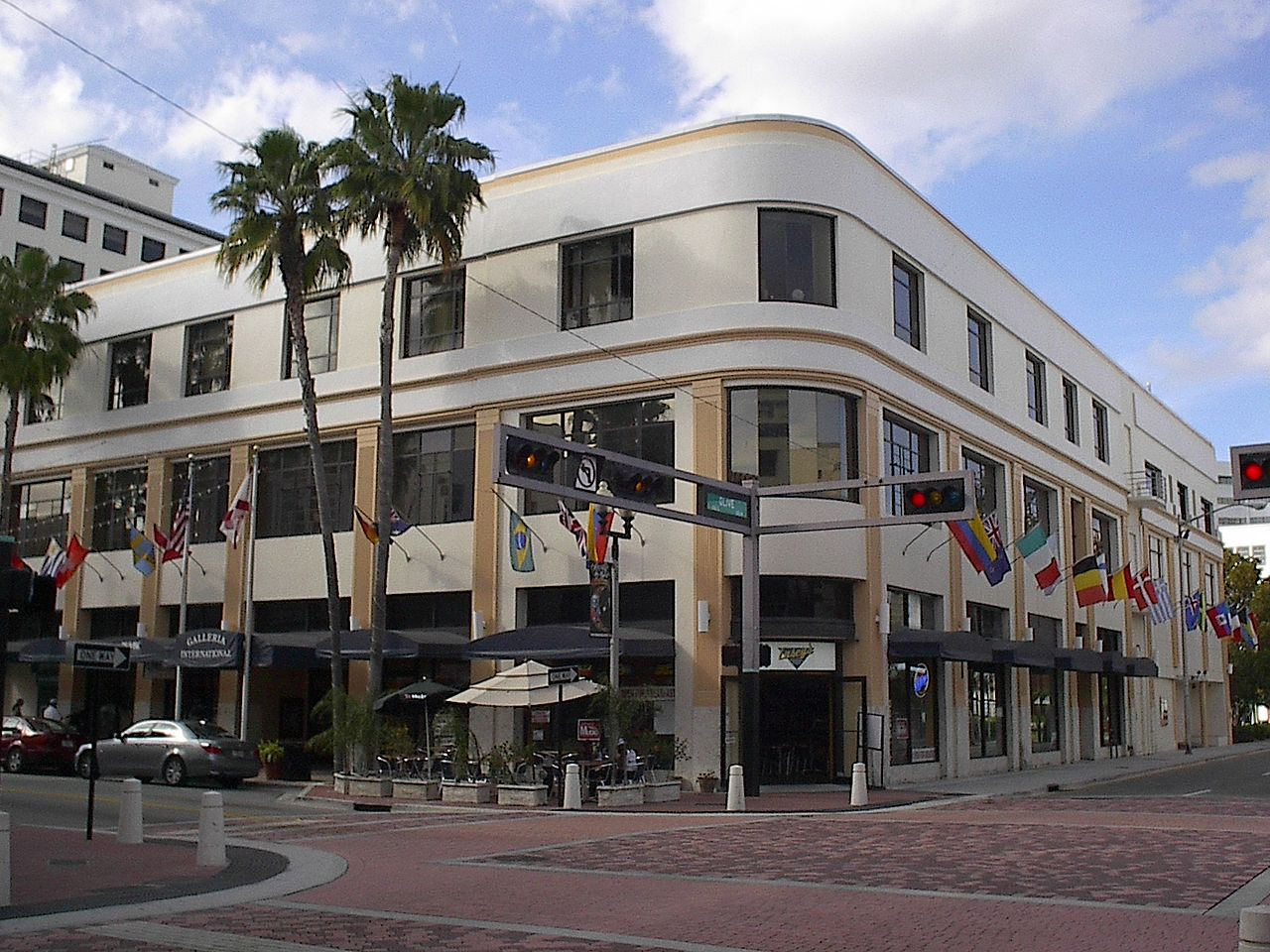 The historic Hatch's Department Store Building is a fine example of Moderne architecture.