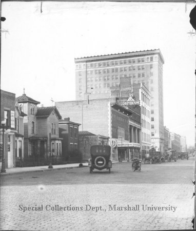4th Ave between 11 & 10th streets, facing west, circa 1920s