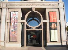 National Museum of African Art entrance.