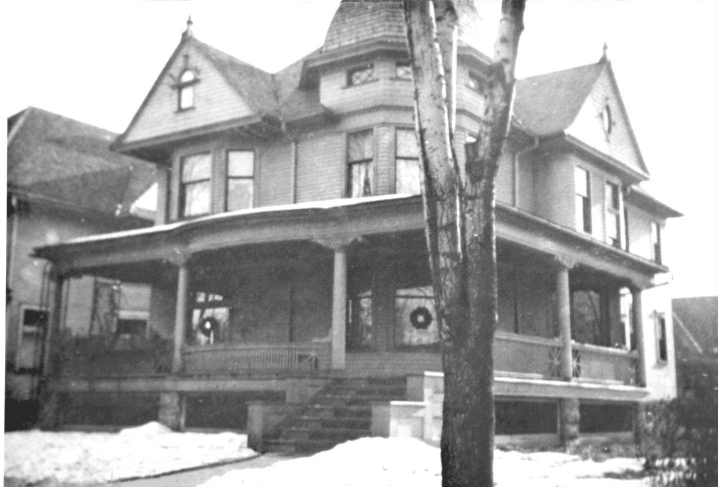 Wolfarth House, Christmas 1908