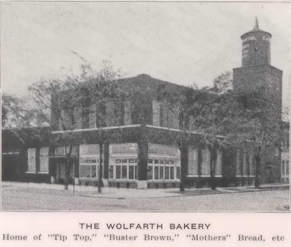 Wolfarth Steam Bakery 1918