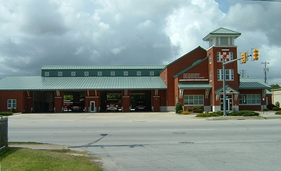 New Bern Fire Department Headquarters