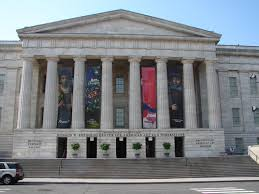 Smithsonian American Art Museum main entrance.