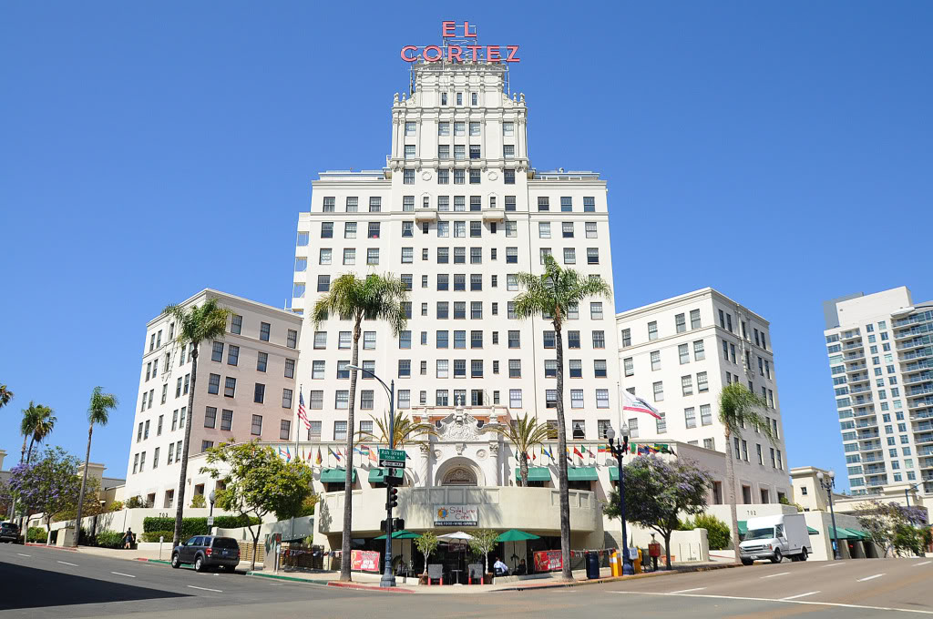 The El Cortez is one of San Diego's most well-known buildings. When it was built in 1927 it was the tallest building in the city.