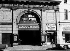 The thater when it was known as the Putnam Theater