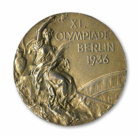 One of Jesse's 1936 Olympic gold medals