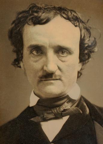 """(1849) Edgar Allan Poe, the """"Annie"""" Daguerreotype"""