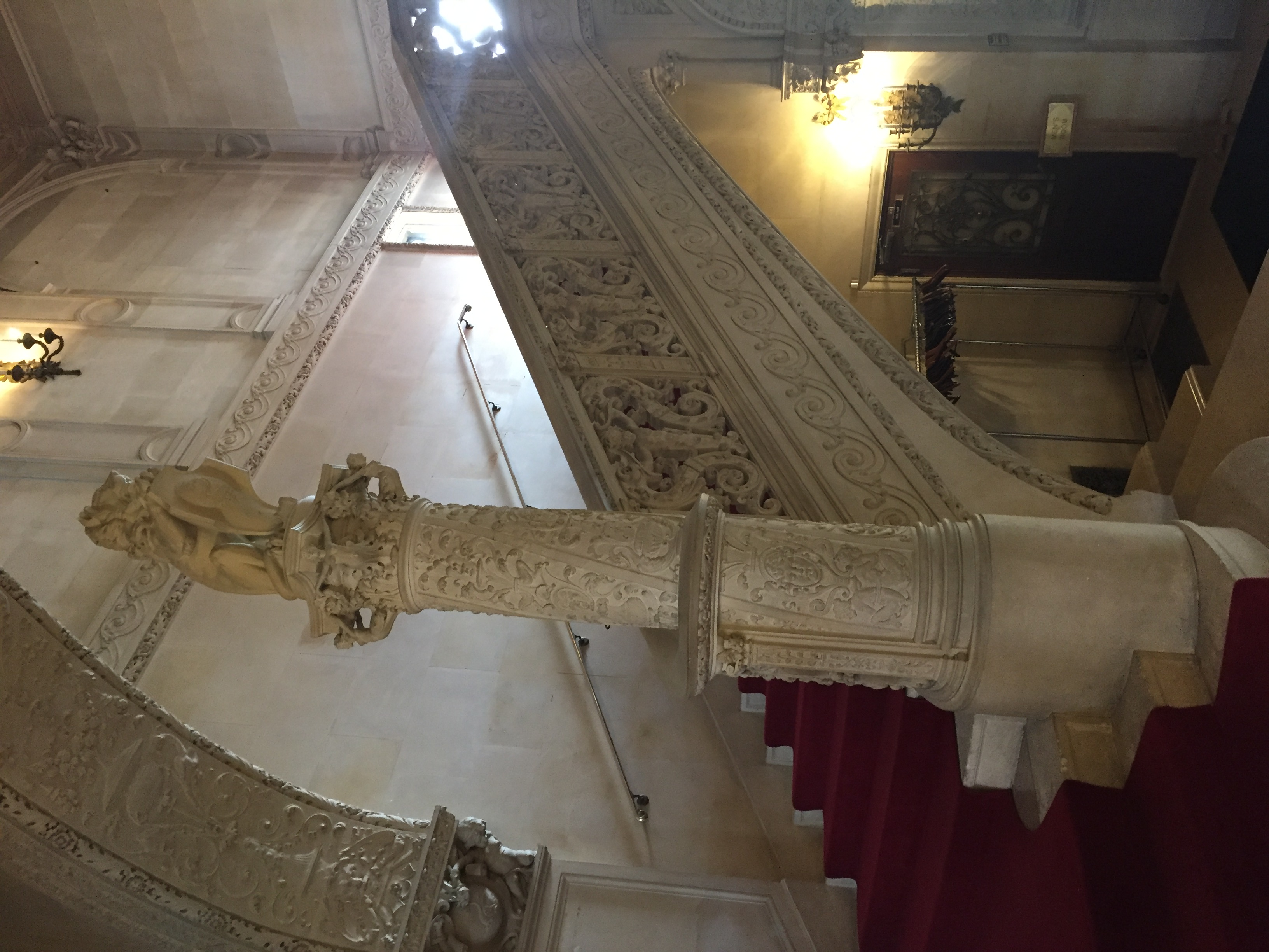 Main staircase in Ochre Court